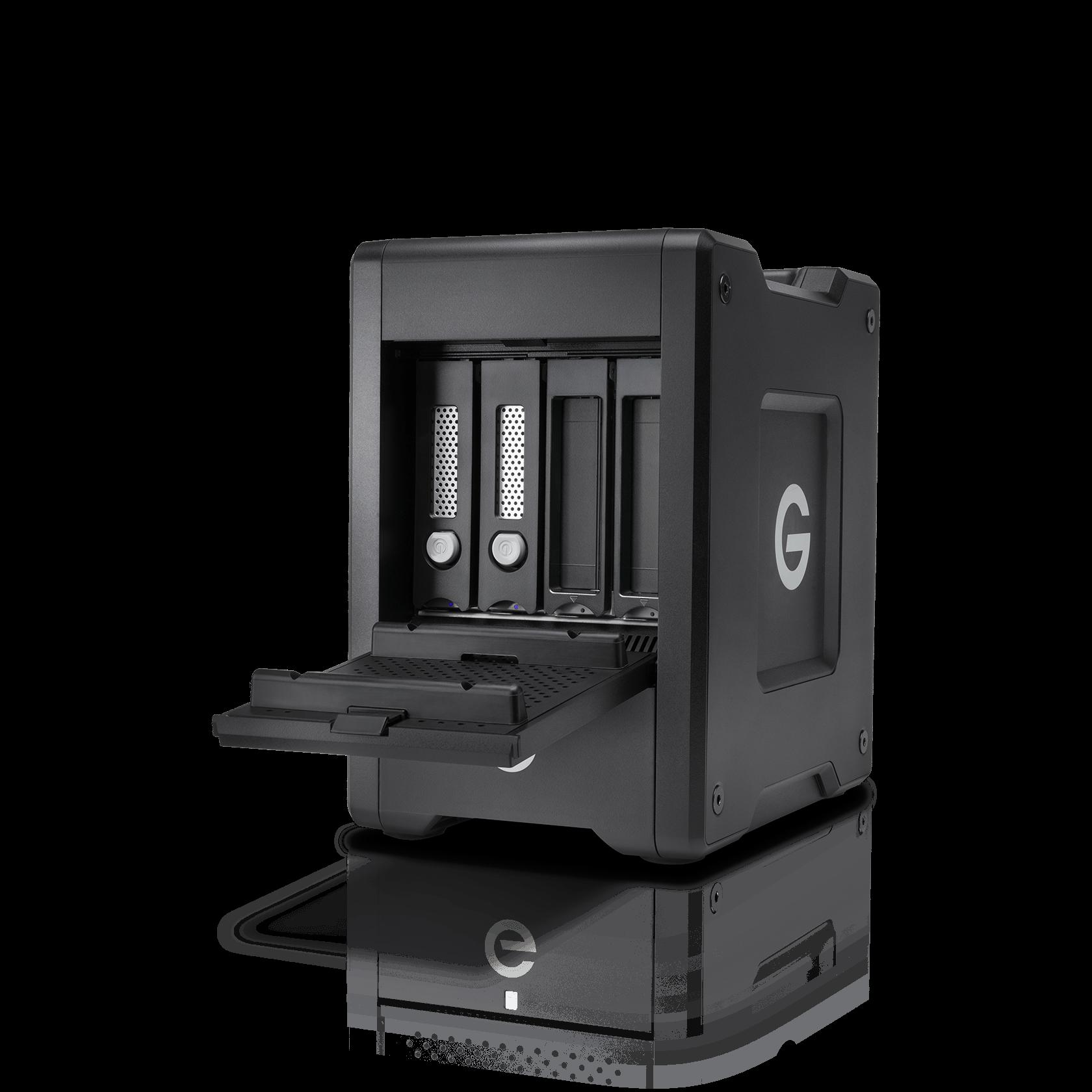 WesternDigital coupon: G-Technology 20TB G-SPEED Shuttle Thunderbolt 3 w/ev Series Bay, Black - 0G10141