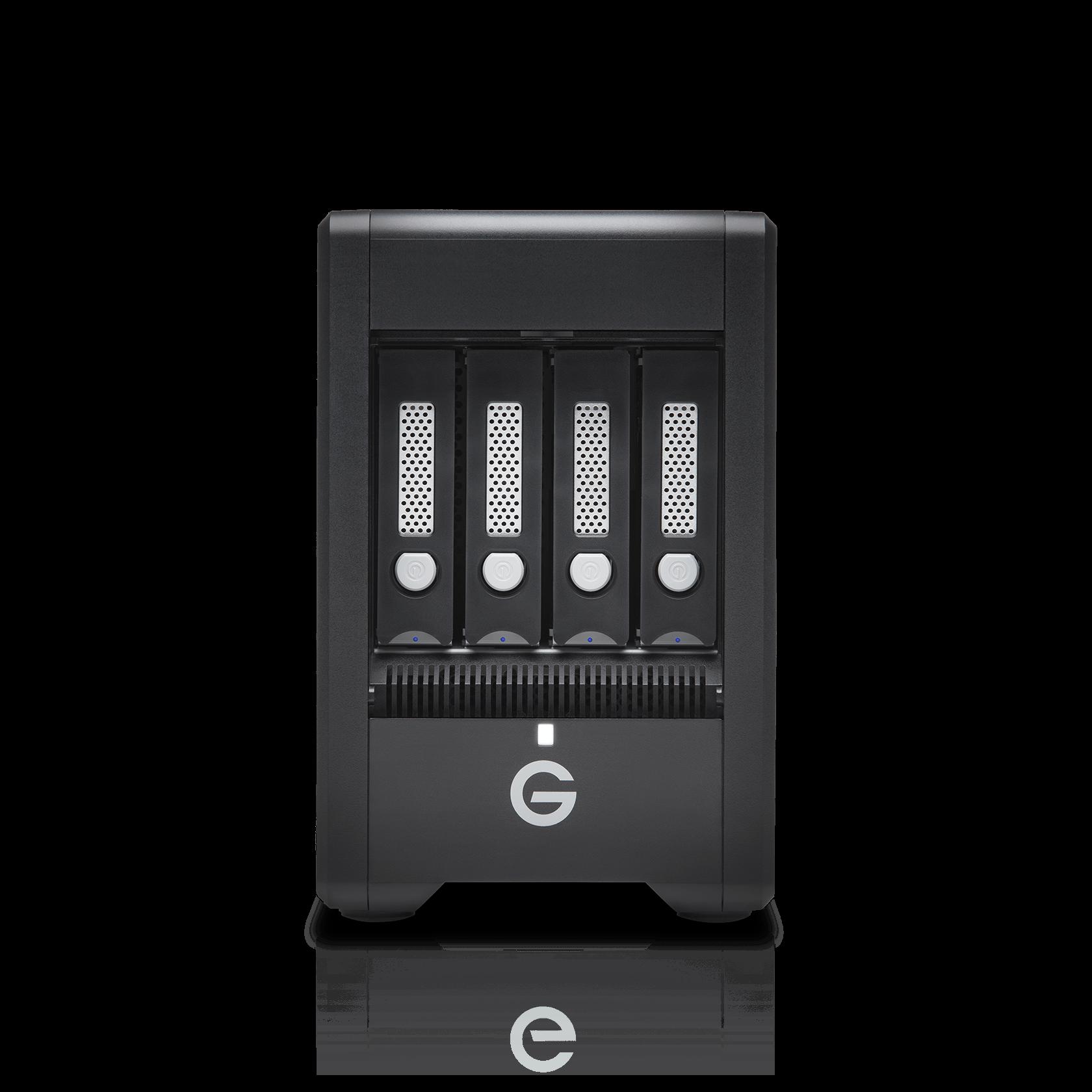 0G10067 G-Technology 16TB G-SPEED Shuttle Thunderbolt 3 Transportable 4-Bay RAID Storage Solution