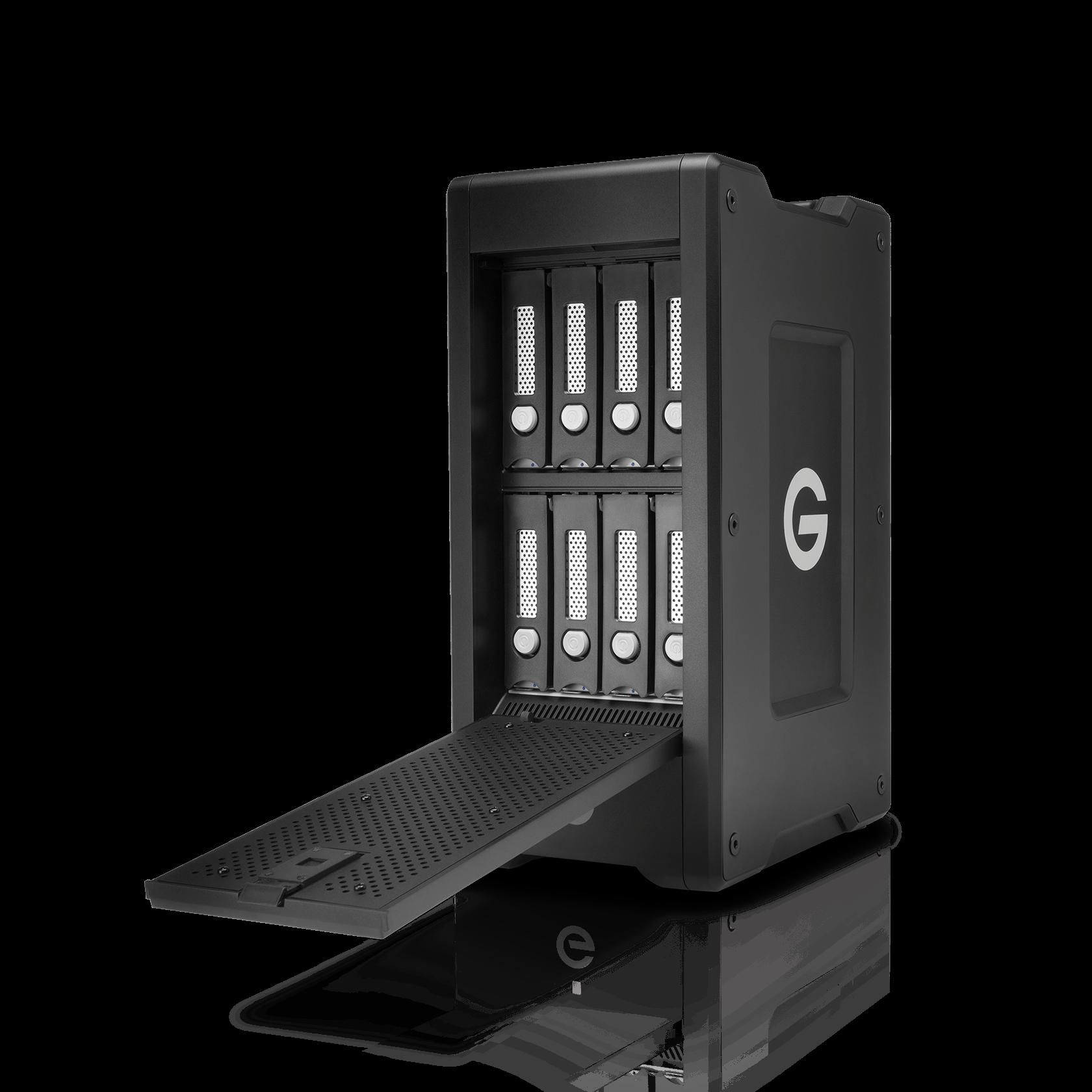 WesternDigital coupon: G-Technology 32TB G-SPEED Shuttle XL Thunderbolt 3, 8-bay Storage System - 0G05849