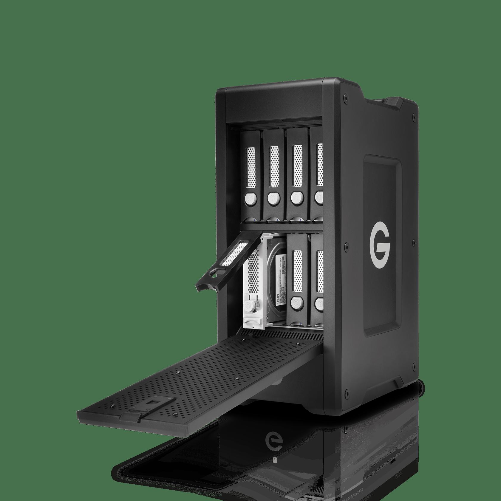 G-Technology 24TB G-SPEED Shuttle XL Thunderbolt 2, 8-Bay Storage System - 0G04647