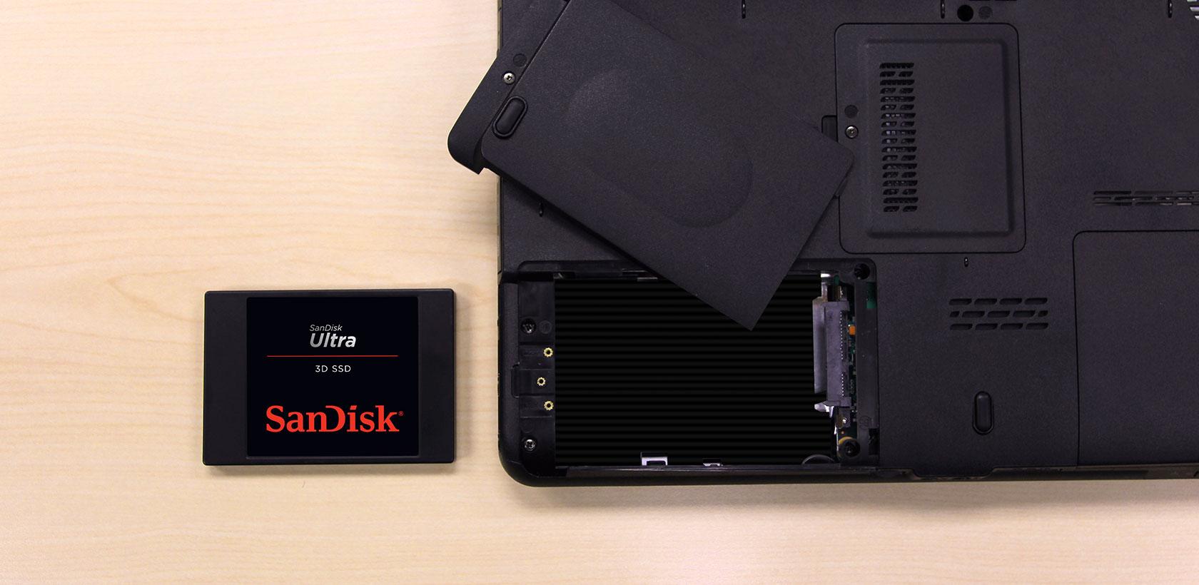 2.5//7mm SDSSDH3-250G-G25 SanDisk Ultra 3D NAND 250GB Internal SSD SATA III 6 Gb//s