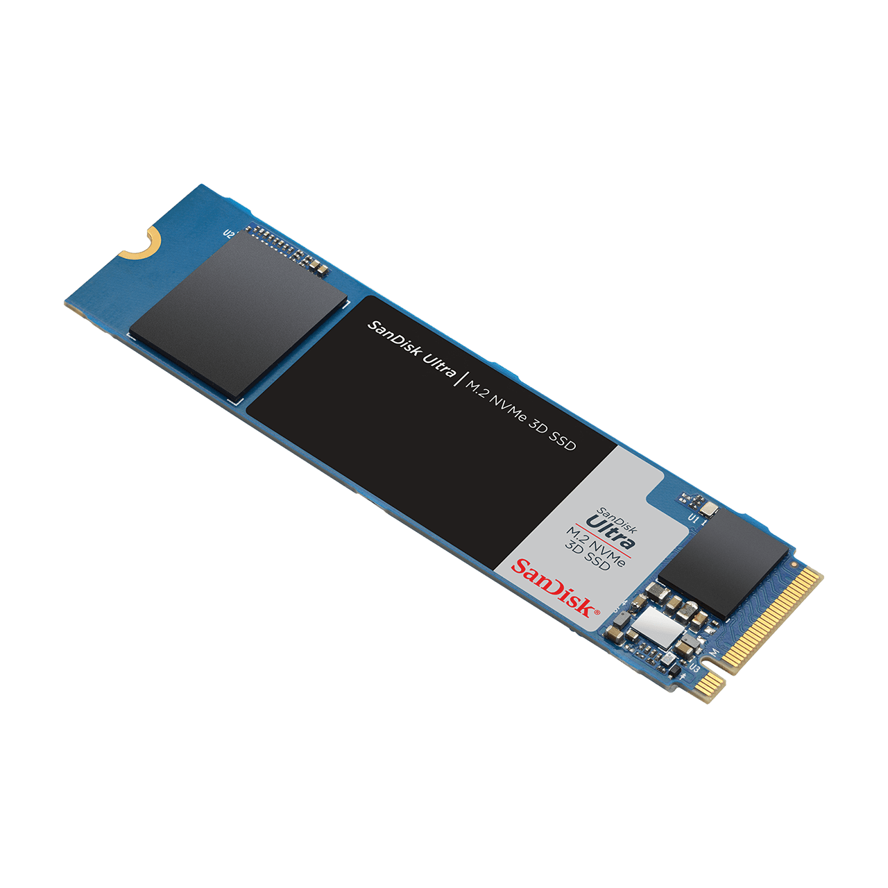 Ultra M2 NVME 3D SSD Angle2