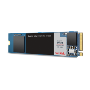 Ultra M2 NVME 3D SSD Angle