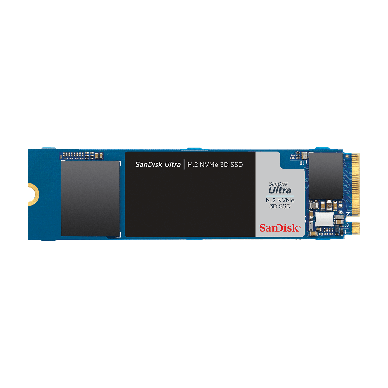 Ultra M2 NVME 3D SSD Front