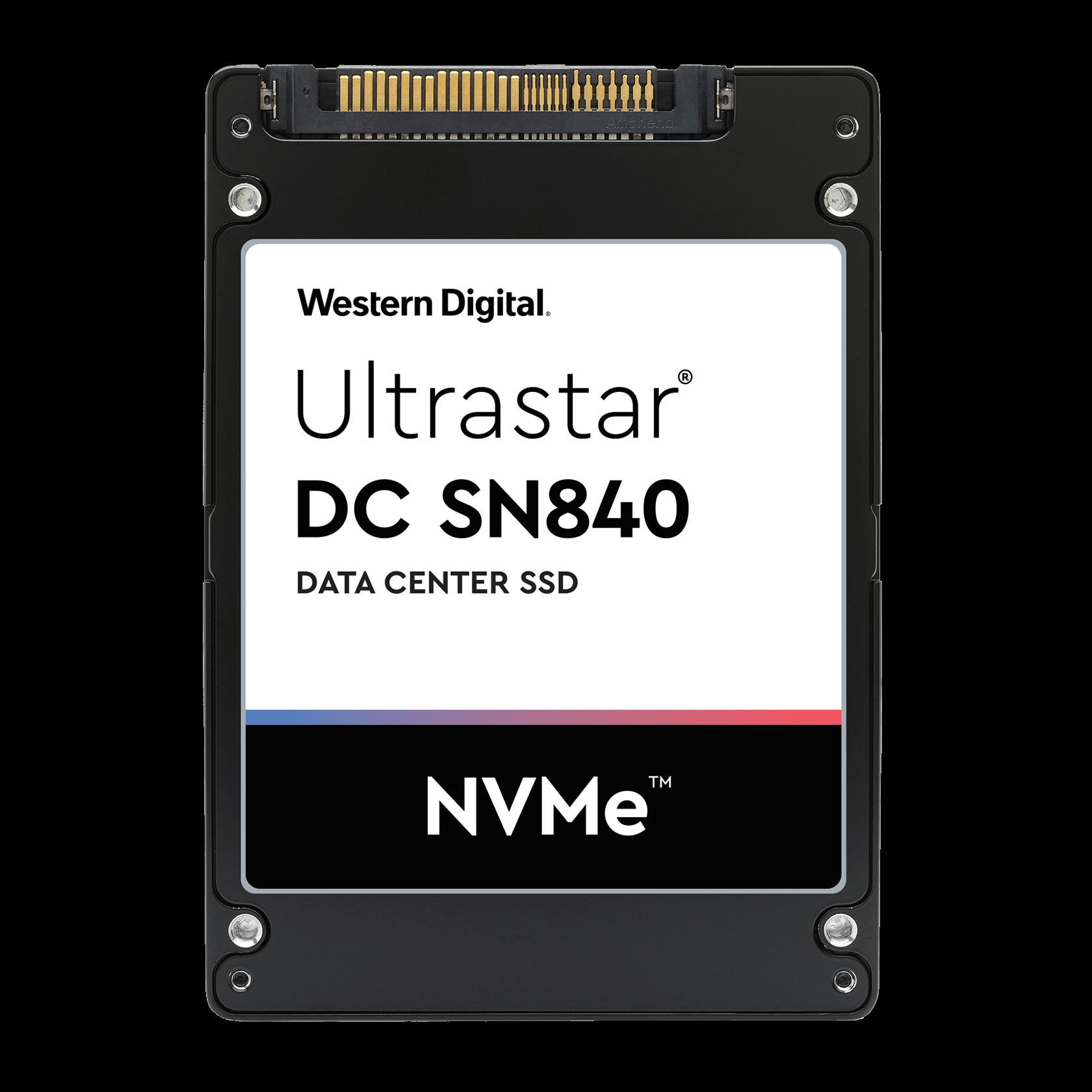 36TB Ultrastar® DC SN840 - - 0TS1881.Western Digital 15 ...