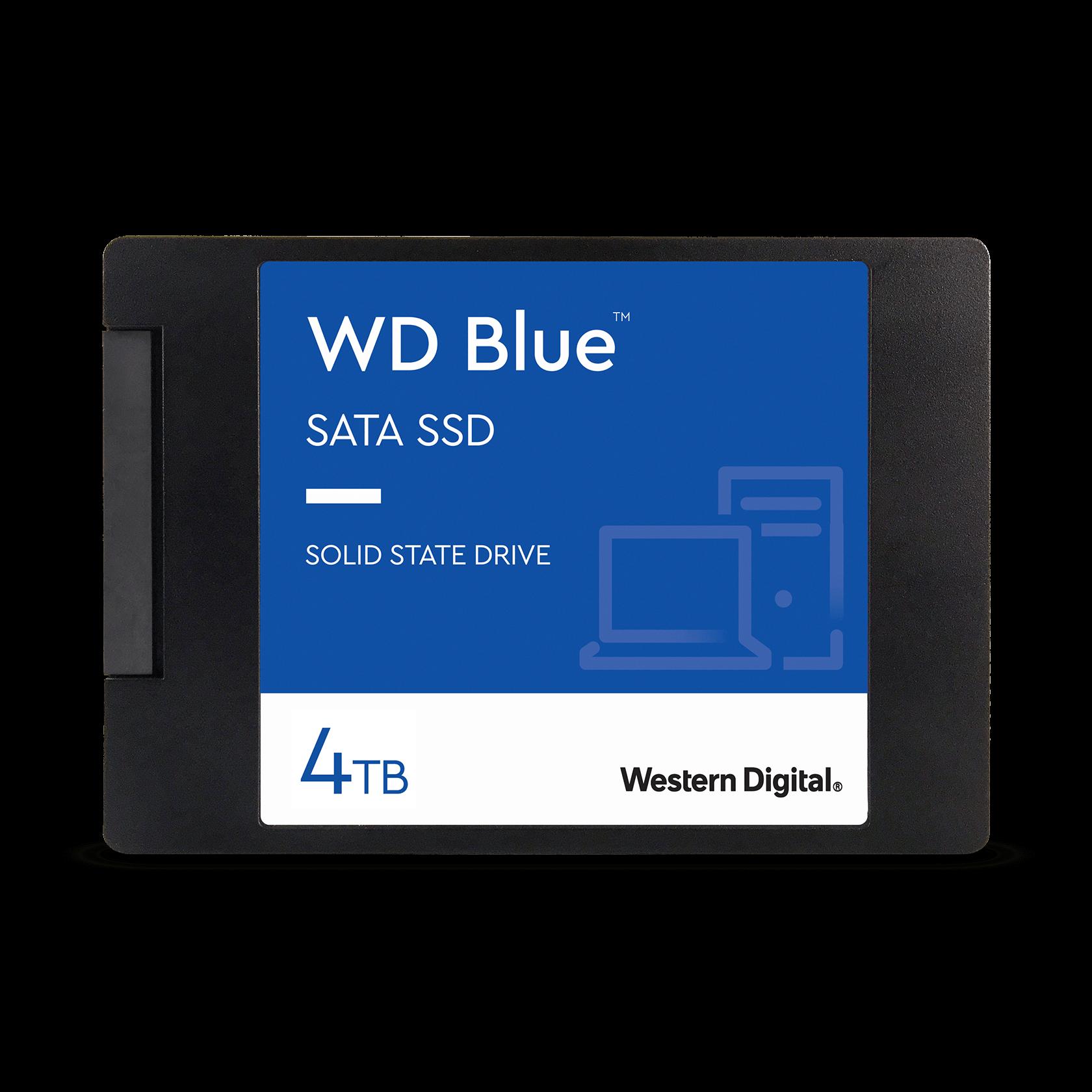 Western Digital 4TB WD Blue™ SATA - - WDS400T2B0A Interne ...