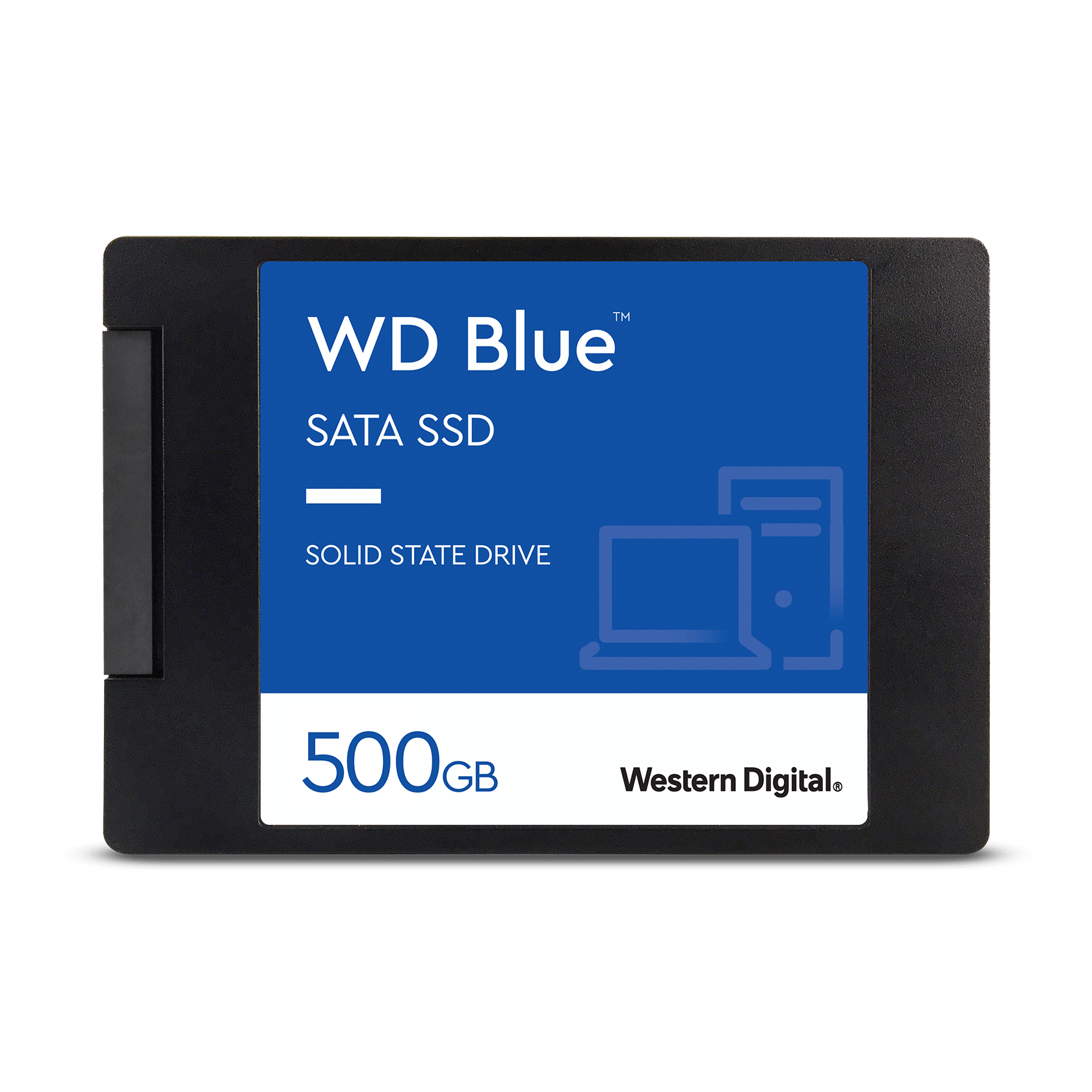 "WD Blue™ SATA SSD 2.5""/7mm cased | Western Digital Store"