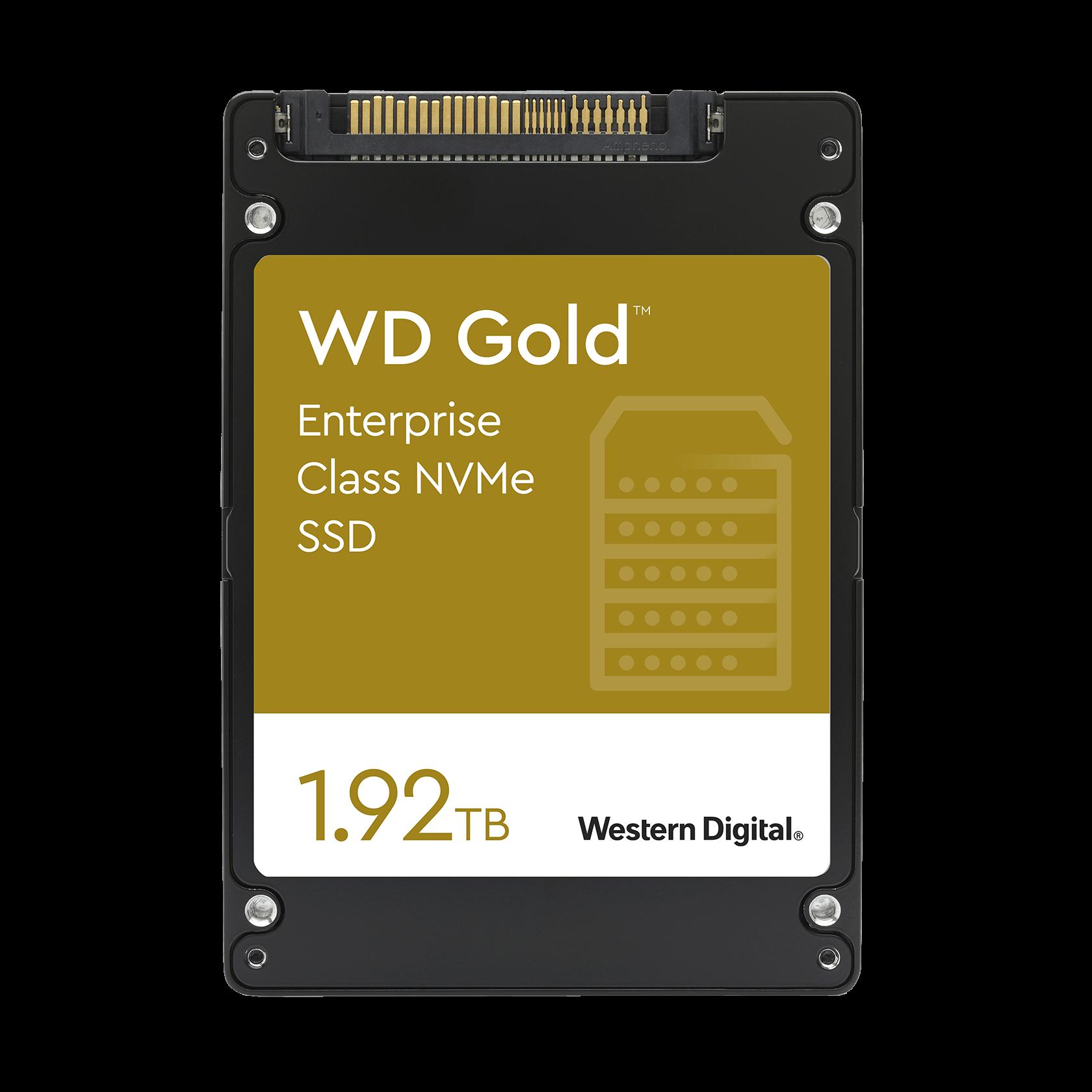 Western Digital 1.92TB WD Gold™ NVMe™ - - WDS192T1D0D (SSD ...