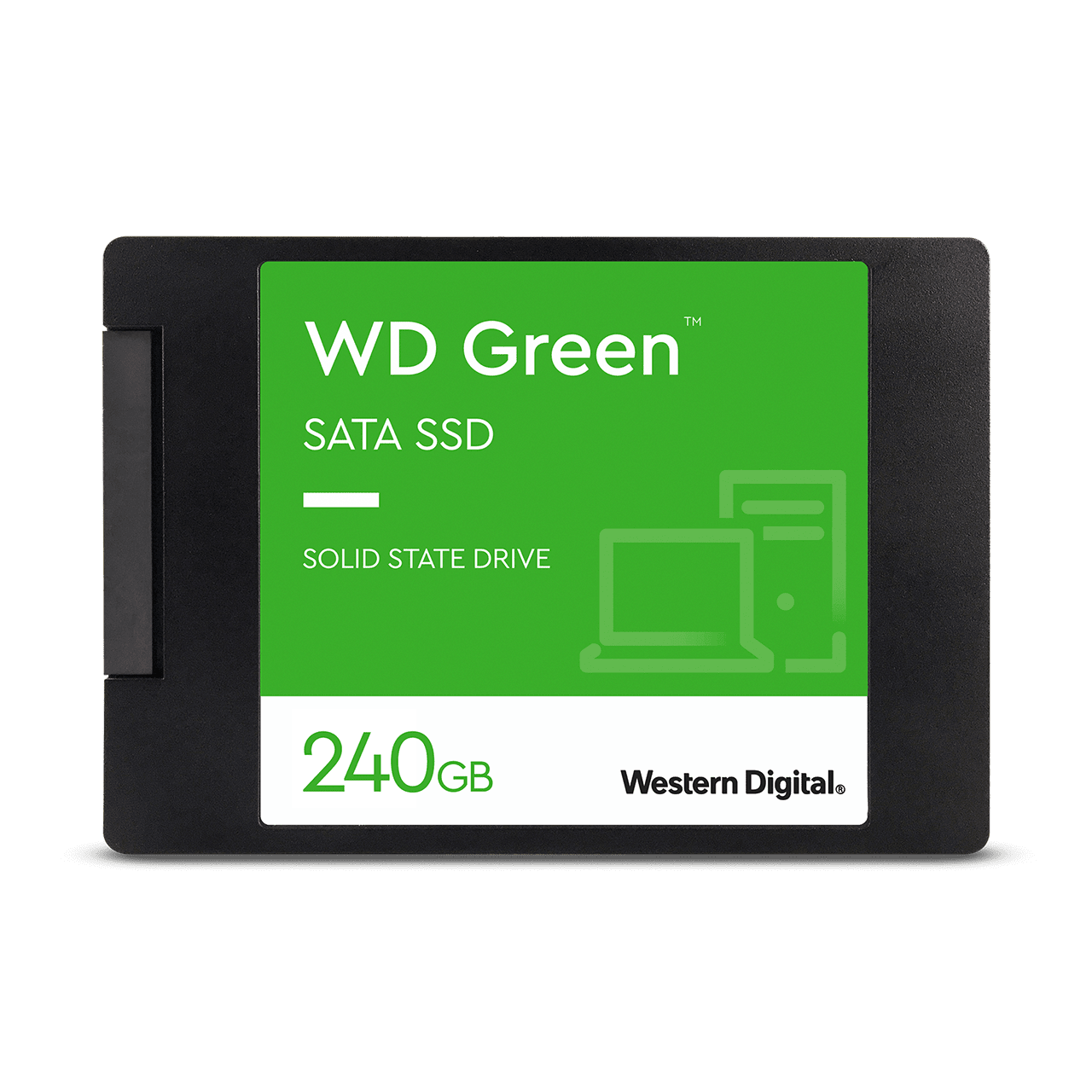"WD Green 240GB Internal SSD  2.5""/7mm cased - Image3"