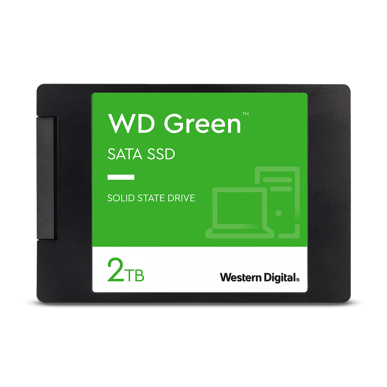 "WD Green 2TB Internal SSD  2.5""/7mm cased - Image8"
