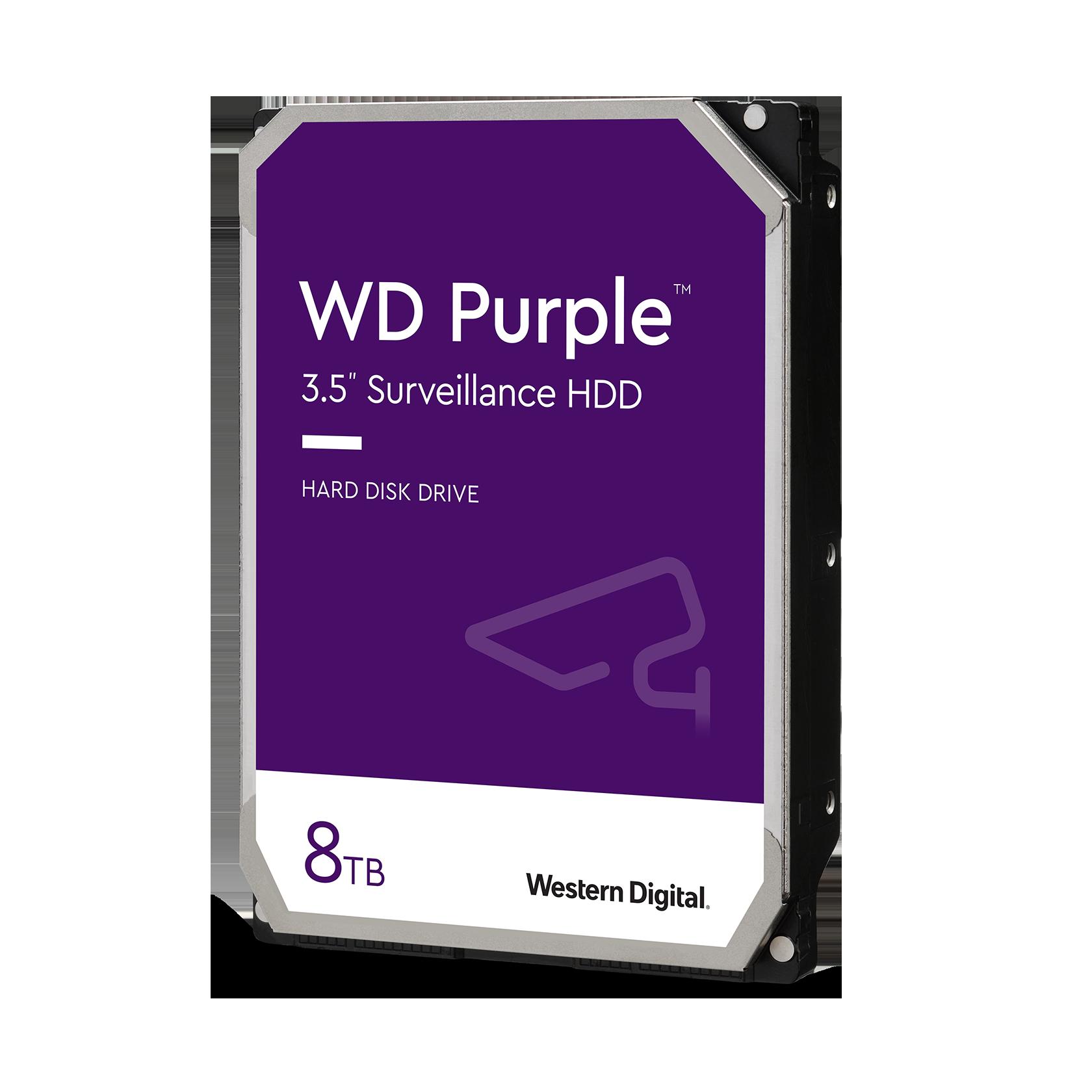 DISCO HDD 8TB WD PURPLE SURVEILLANCE