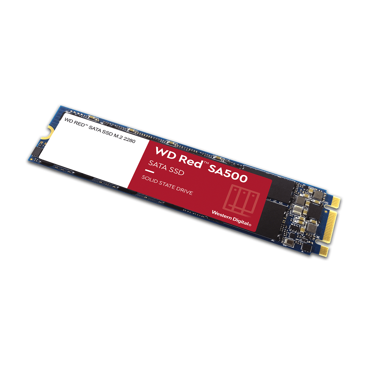 WD Red Sata 2.5 SSD M2 No Cap