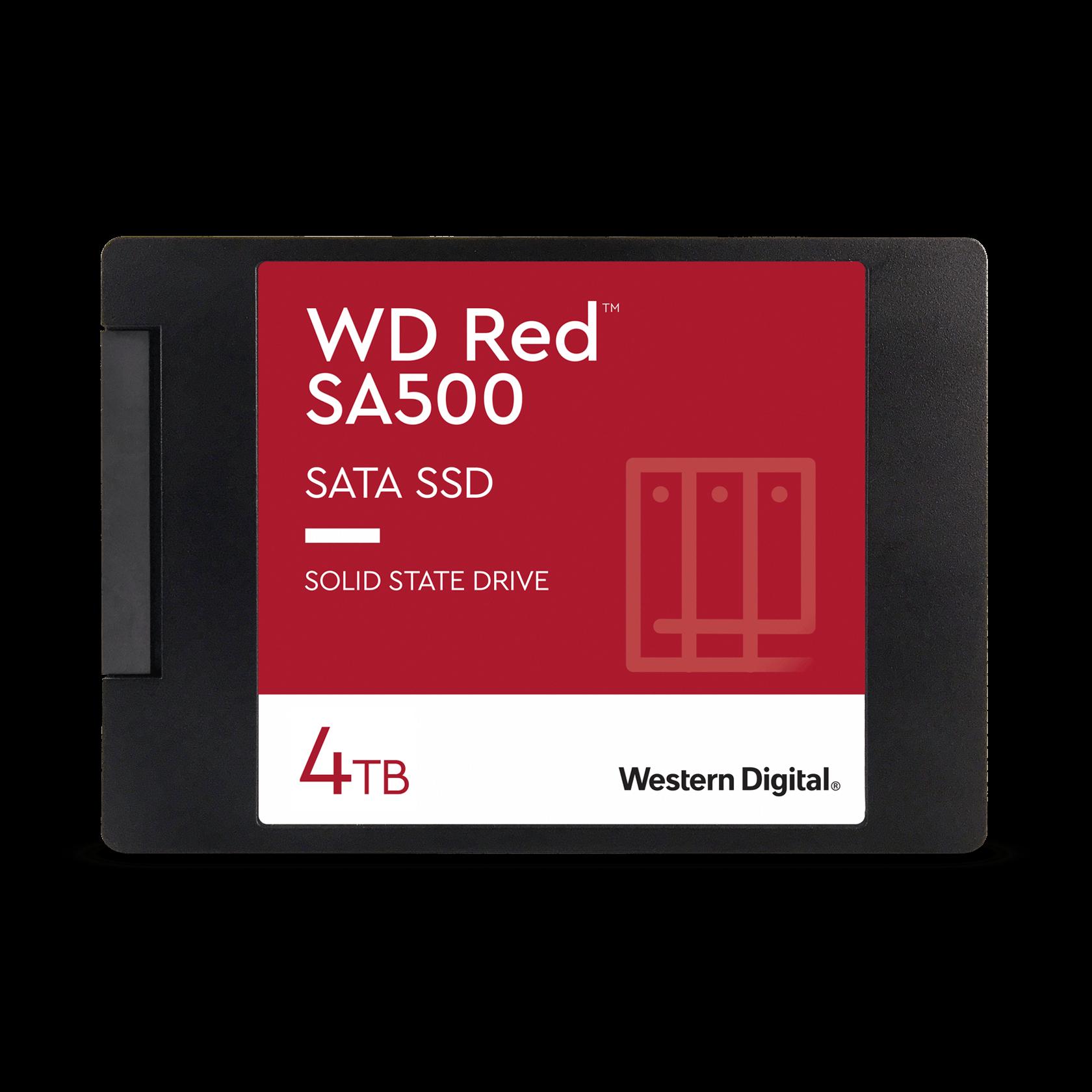 Western Digital 4TB WD Red™ SA500 NAS SATA - WDS400T1R0A ...