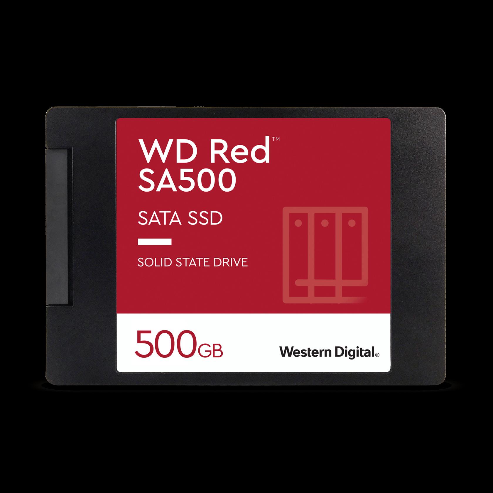 Western Digital WD Red™ SA500 NAS SATA 500GB - WDS500G1R0A ...