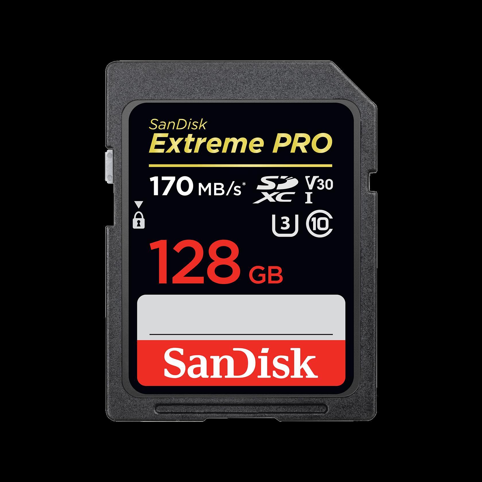 SanDisk 32GB EXTREME UHS-I tarjeta de memoria microSDHC con adaptador SD