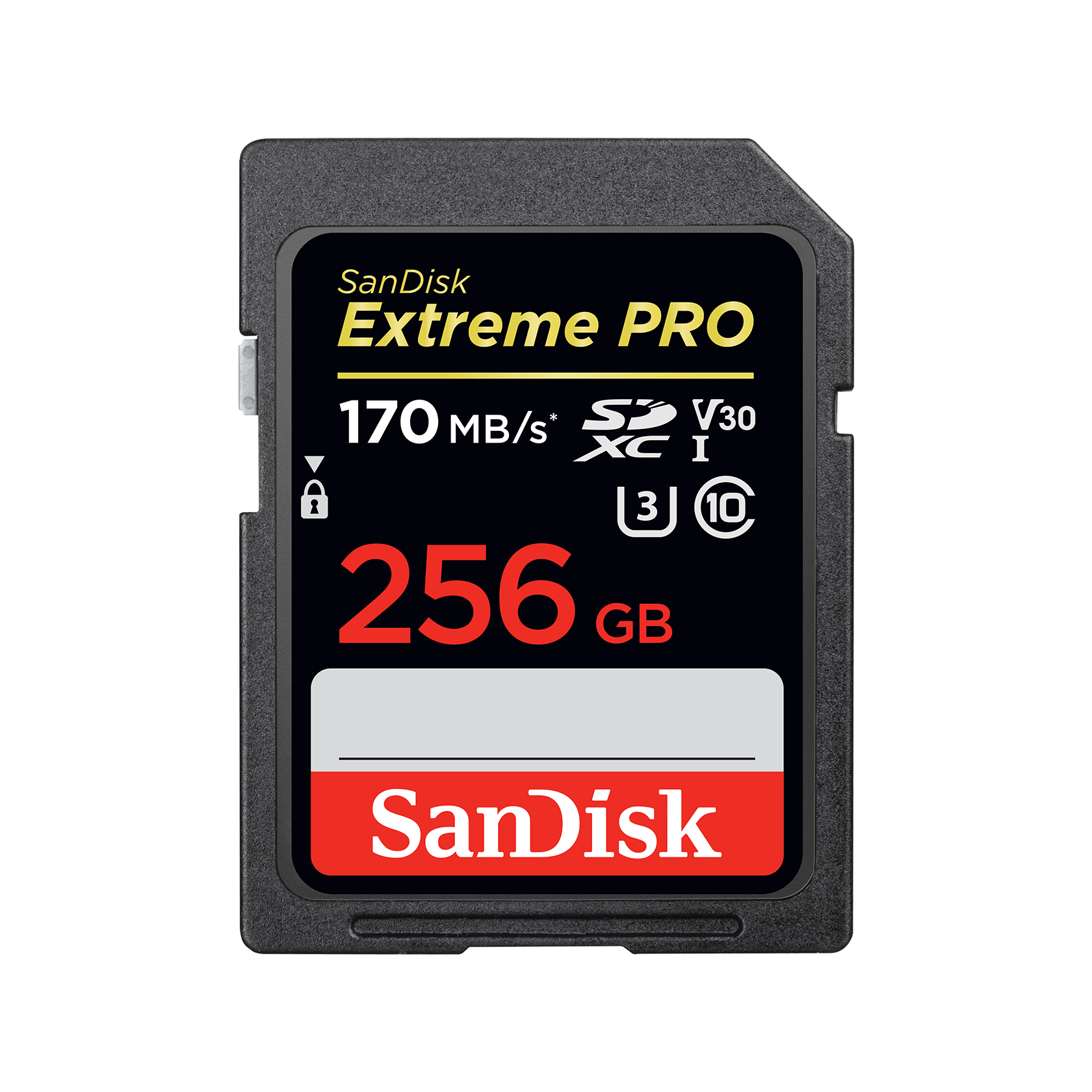 Scheda di Memoria SDXC V30 170 Mb//s Classe 10 SanDisk Extreme PRO 64 GB U3