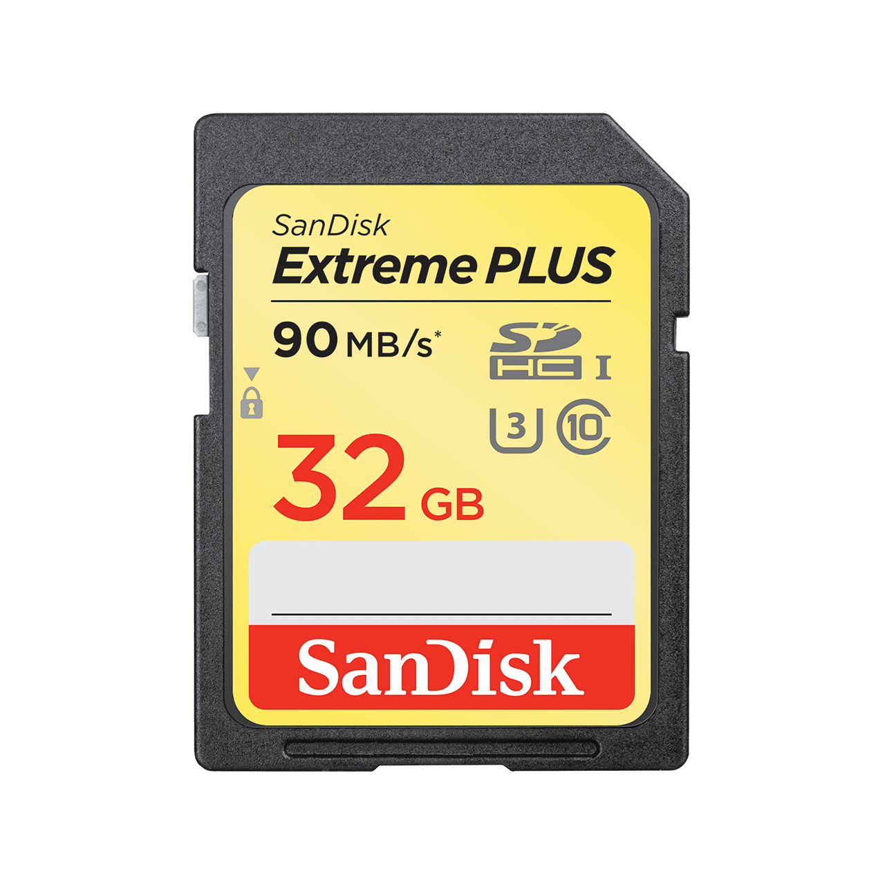 SanDisk extreme plus SD UHS-I 32GB 90mbs product image