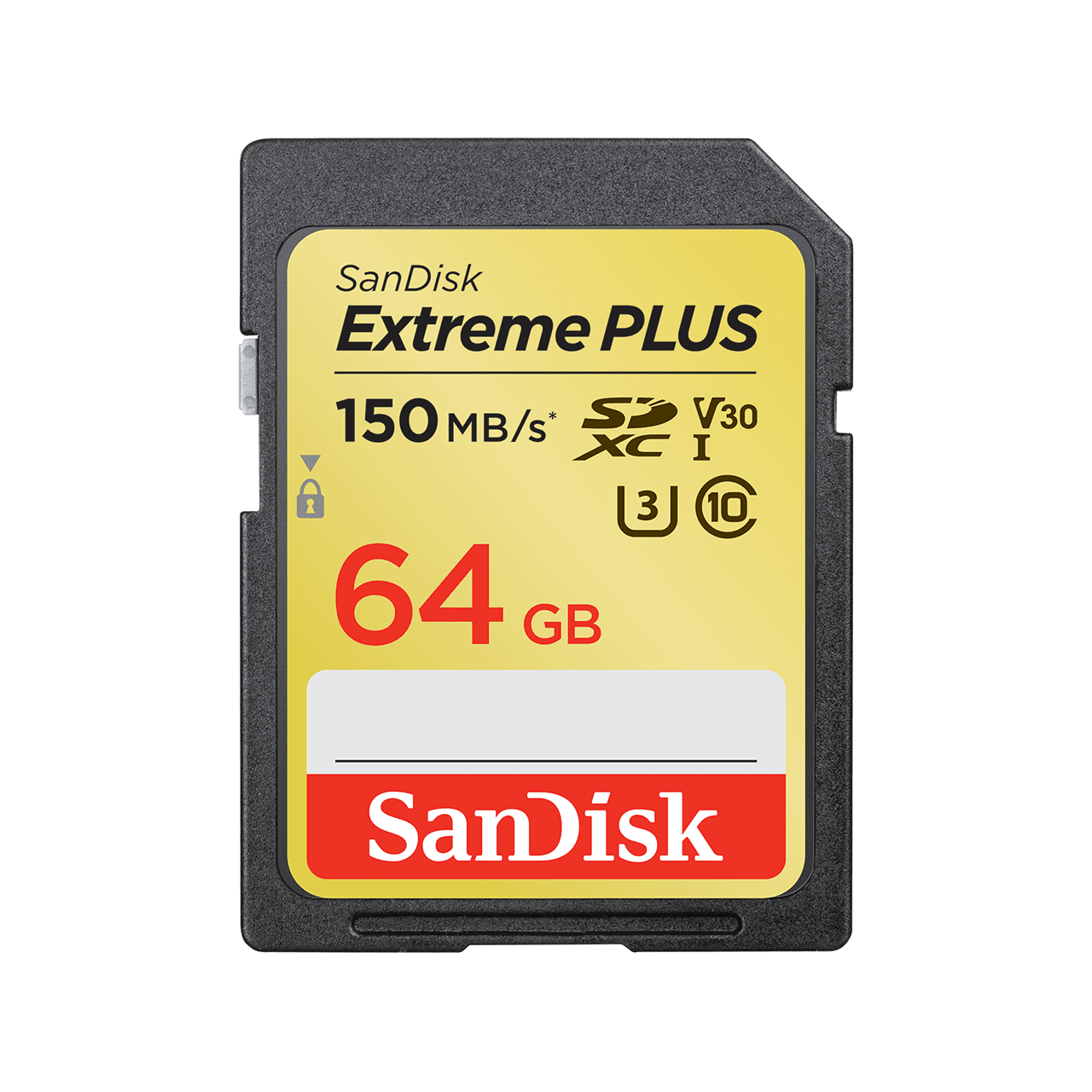 SanDisk extreme plus SD UHS-I 64GB 150mbs product image