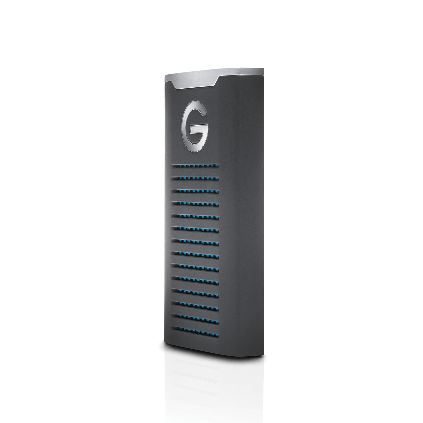 G-Technology 1TB G-DRIVE mobile SSD Durable Portable External Storage USB-C USB 3.1 Gen 2 - 0G06053