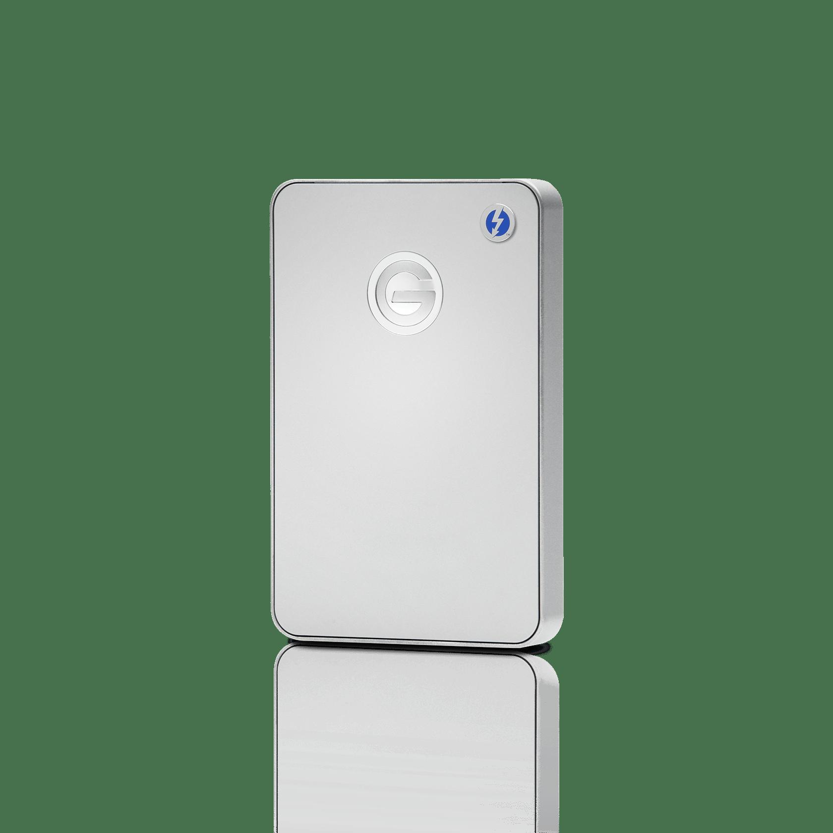 WesternDigital coupon: G-Technology 1TB G-DRIVE Mobile Thunderbolt USB 3.0, Silver - 0G03040