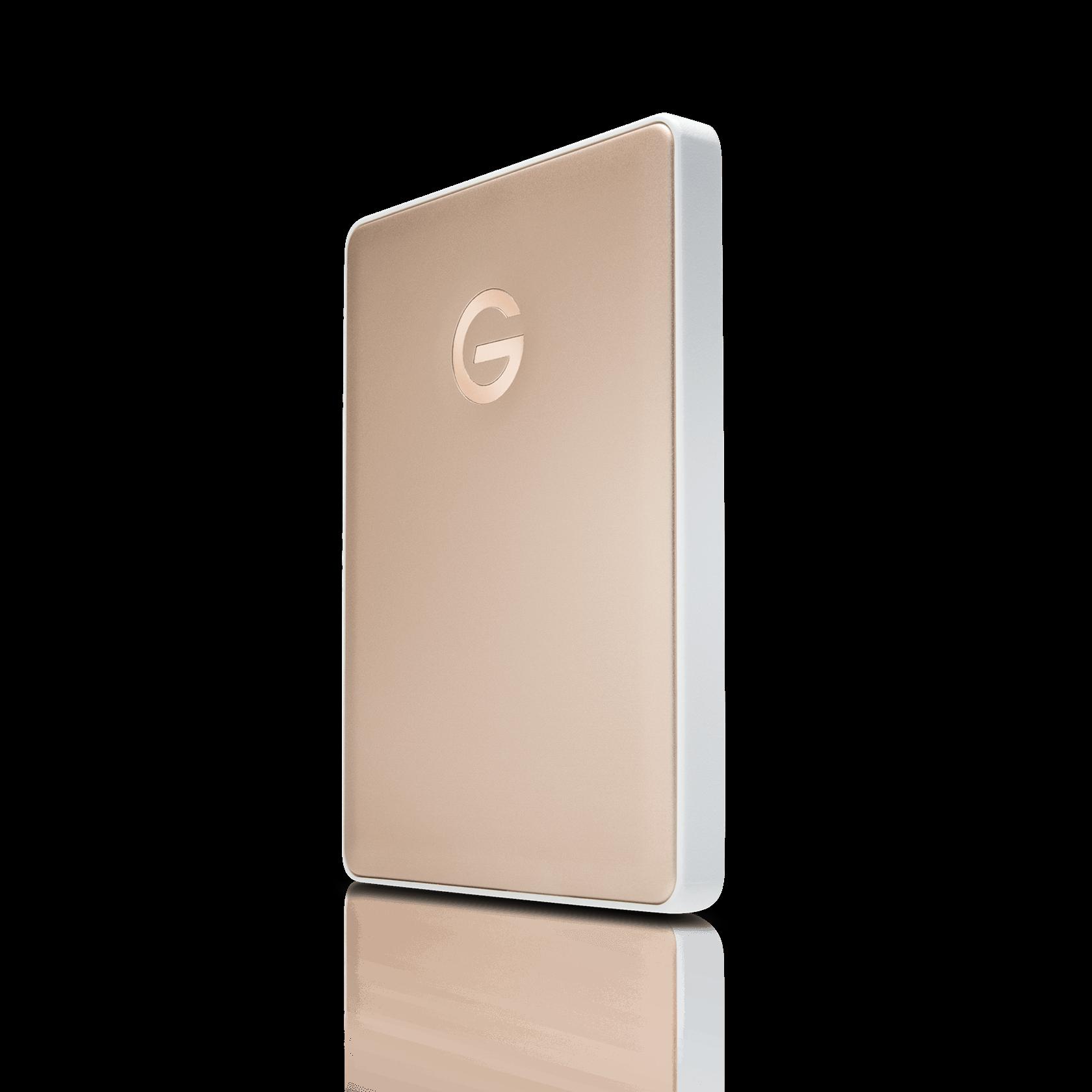 WesternDigital coupon: G-Technology 2TB G-DRIVE Mobile USB-C, Gold - 0G10340-1