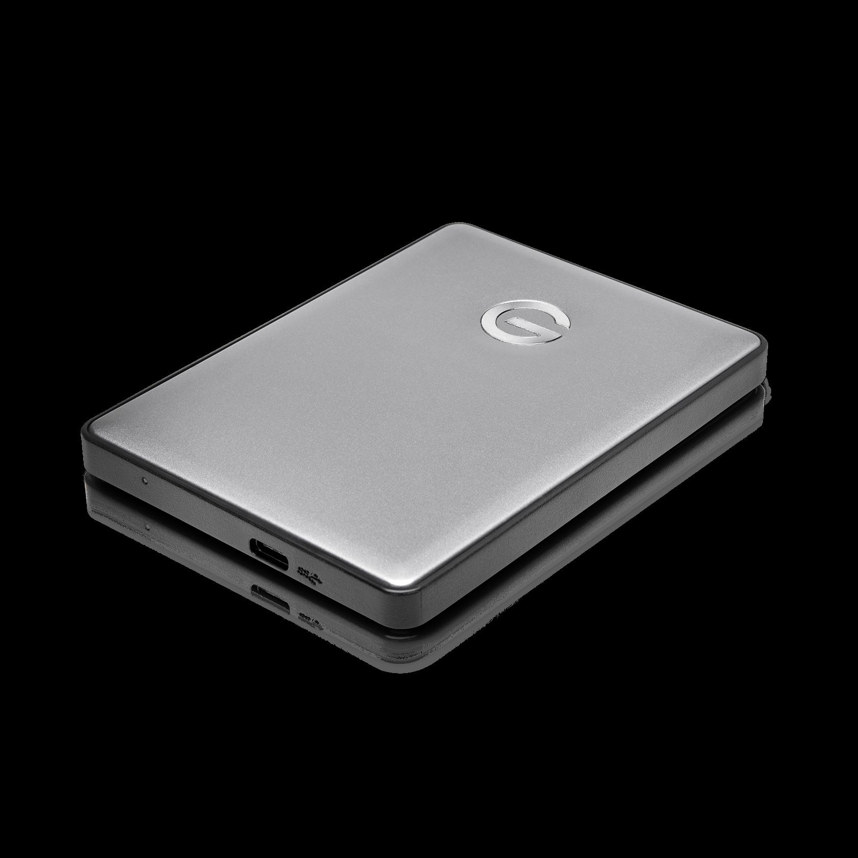 G-Tech G-DRIVE 4TB External USB Type C Hard Drive G-Technology Silver