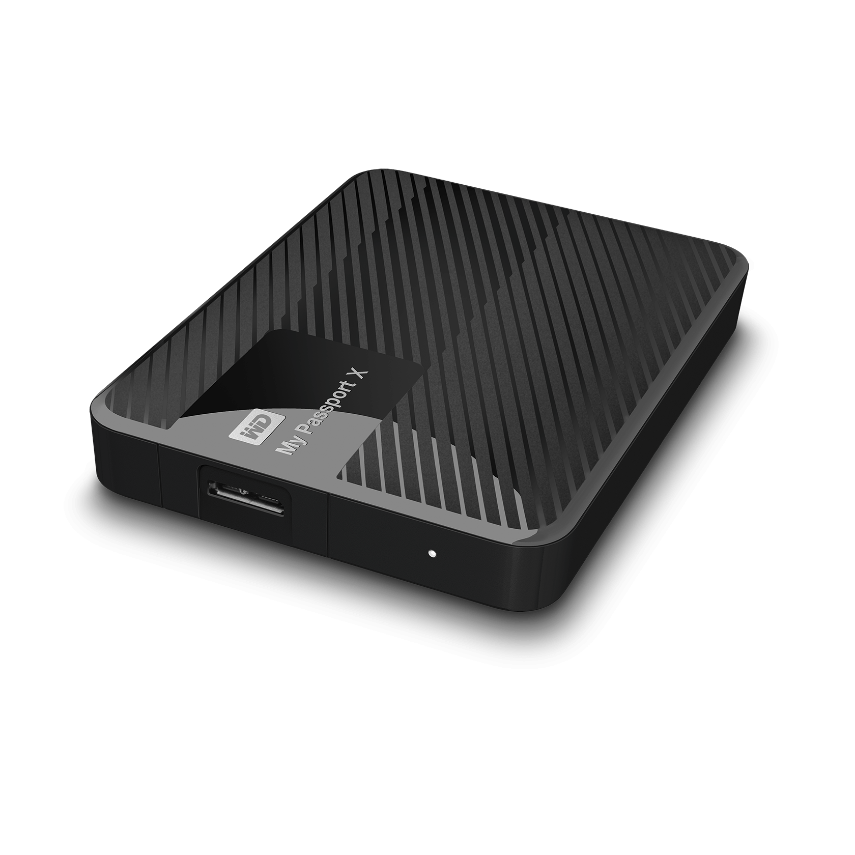 Black Xbox One// PC Gaming WD My Passport X 2TB Portable External Hard Drive