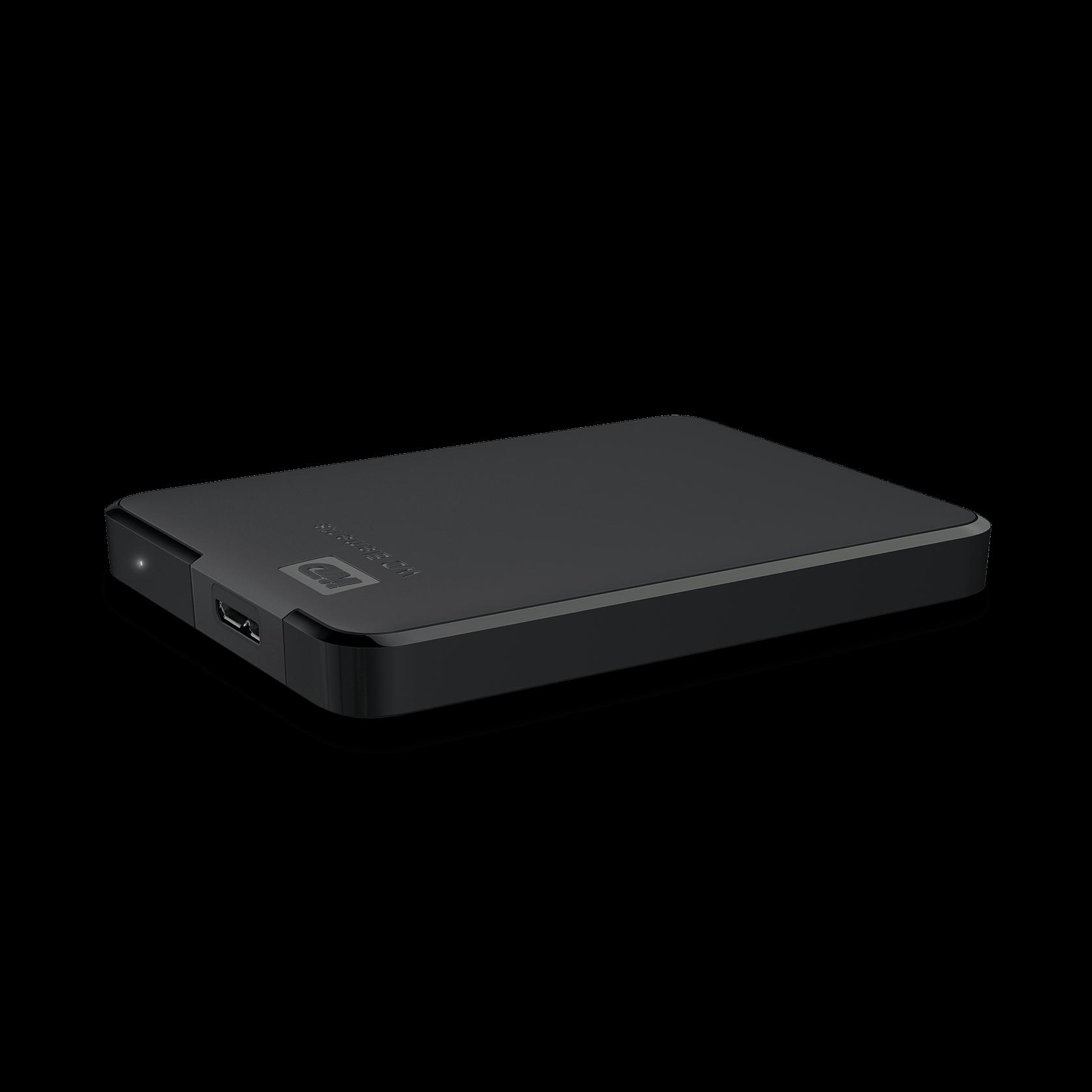 WD WDBU6Y0040BBK-WESN 4TB Elements USB 3.0 High-Capacity Portable Hard Drive for