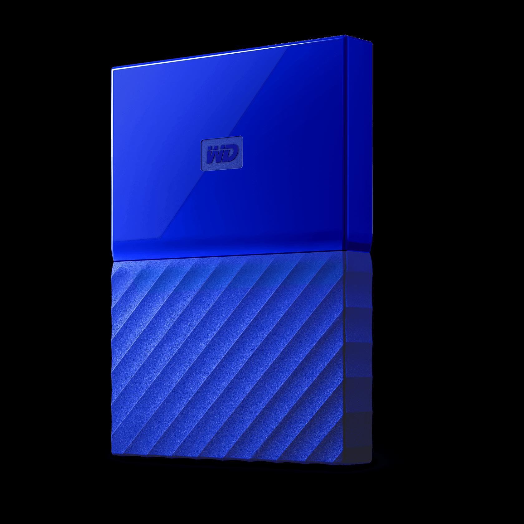 WD My Passport 3TB Blue Manufacturer Refurbished Hard Drive by Western Digital