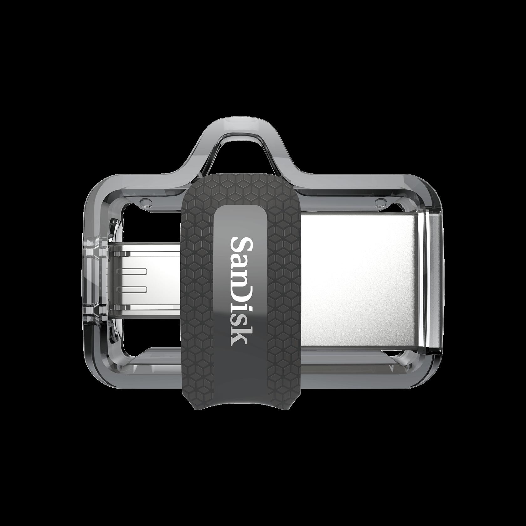 nouvelle version SanDisk Ultra 16Go Dual Drive m3.0 Cl/é double connectique pour appareils mobiles