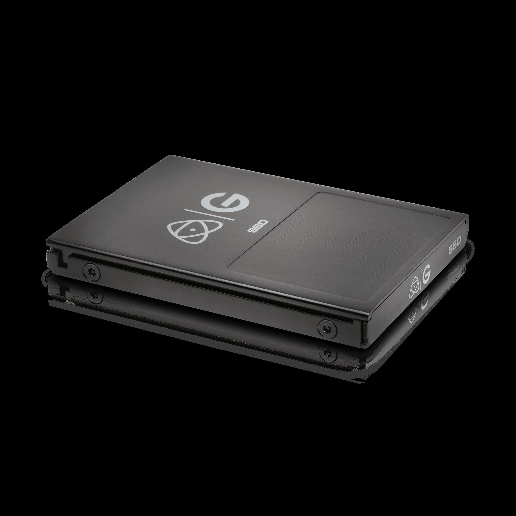 [256GB] Atomos Master Caddy 4K by G-Technology Black WW