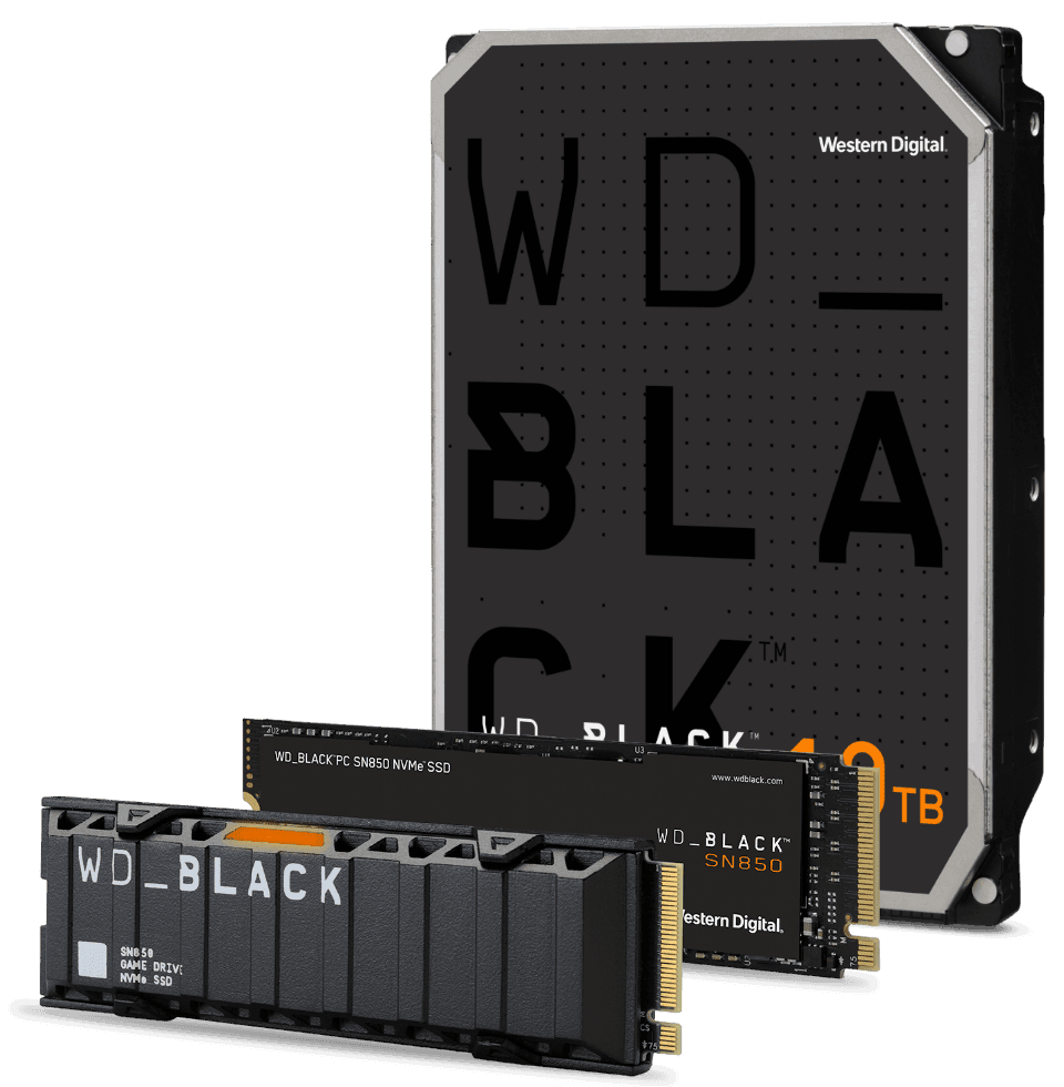 The WD_BLACK family of drives
