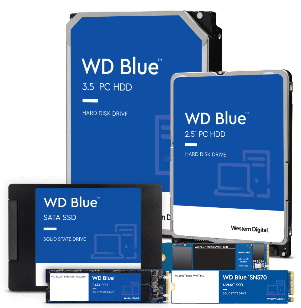 The WD Blue family of drives
