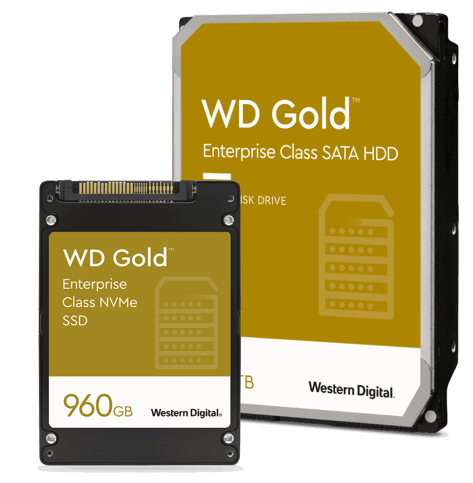 The WD Gold family of drives