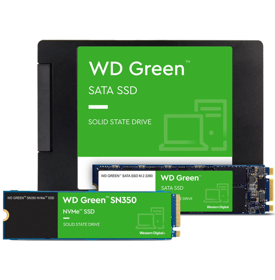 The WD Green family of drives