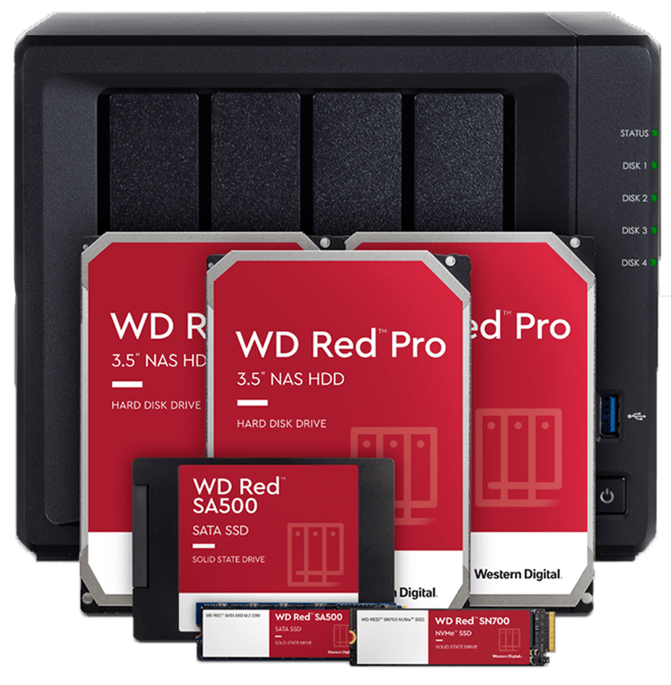 The WD Red family of drives