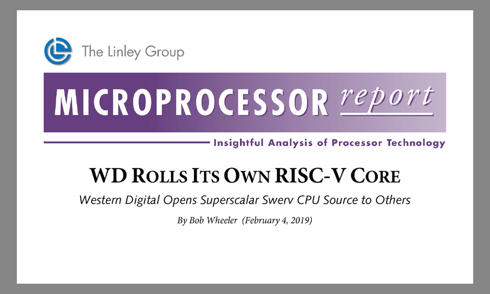 RISC-V SweRV Core report